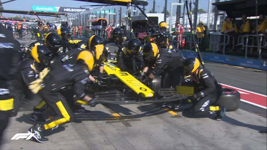 Daniel Ricciardo Has Had A Shocking Start To The Aus Grand Prix