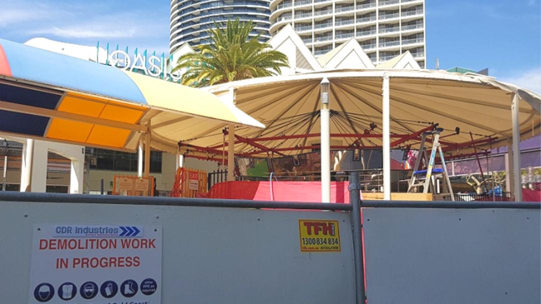 Demo Works Underway To Tear Down Gold Coast Icon