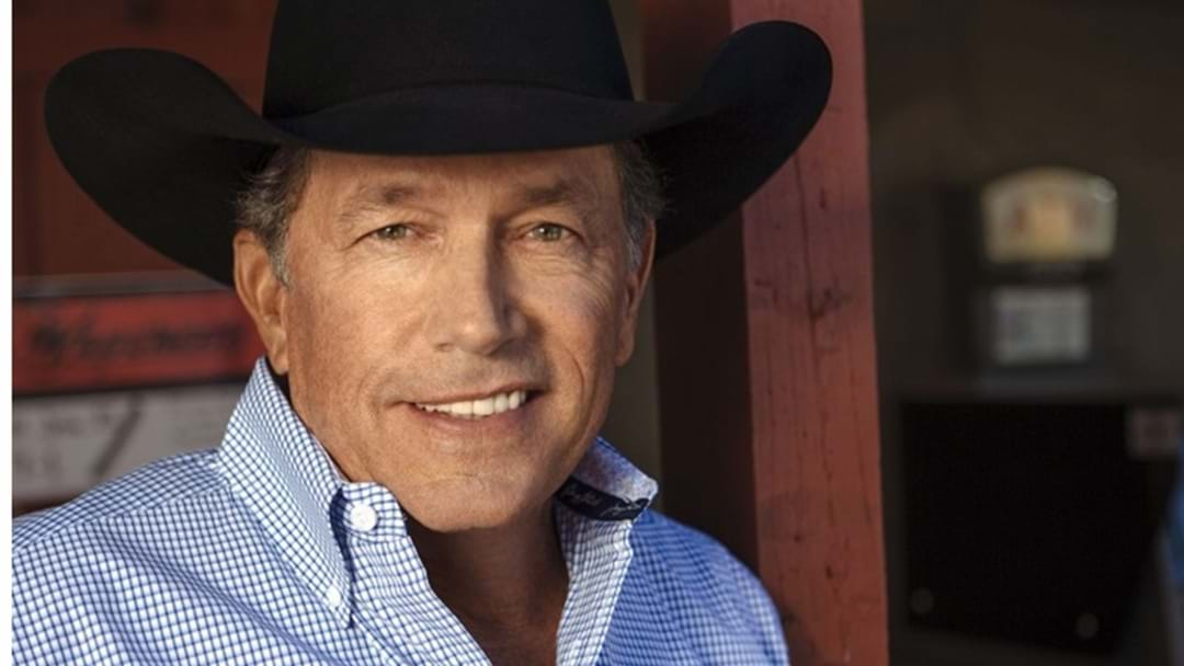 "George Strait and ""The Weight of The Badge"""