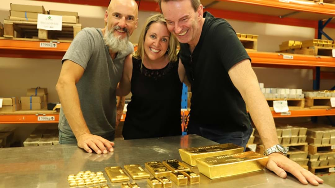 What Does Two Million Bucks Worth Of Gold Look Like?
