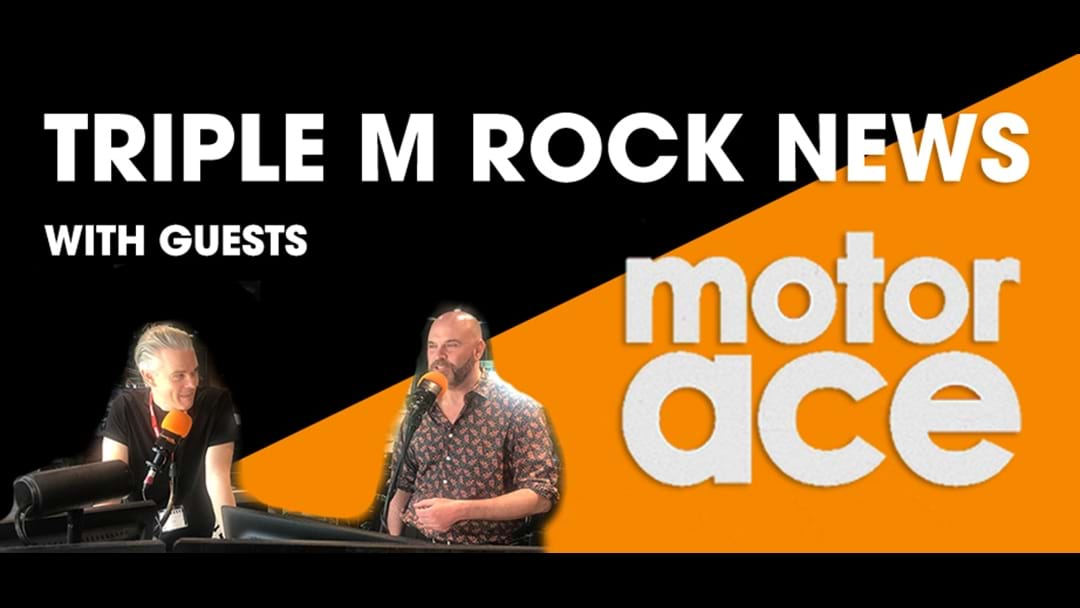 Triple M Rock News With Guests Motor Ace