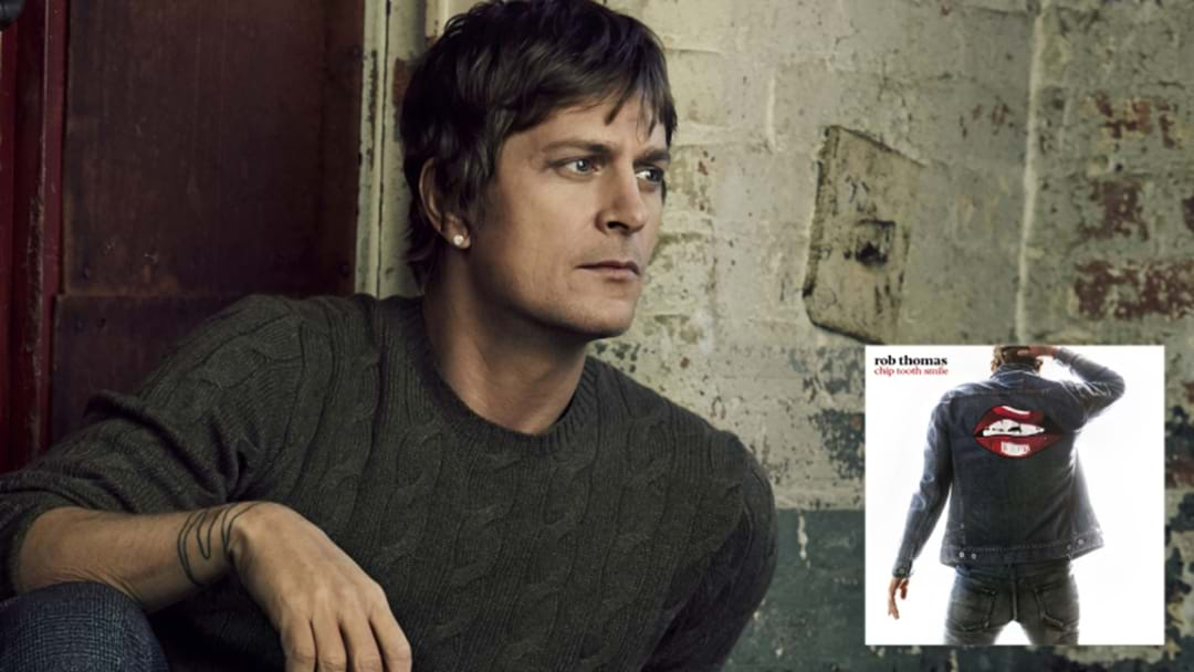 Rob Thomas Is Going Old School And Doing A Shopping Centre Performance Next Week