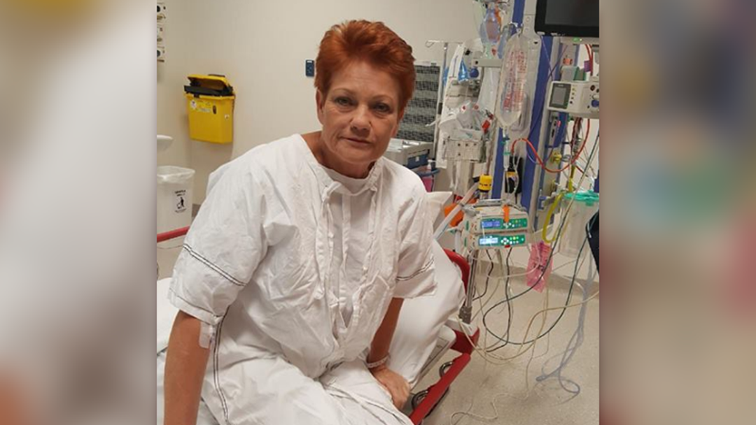 Pauline Hanson Rushed To Hospital For Emergency Surgery