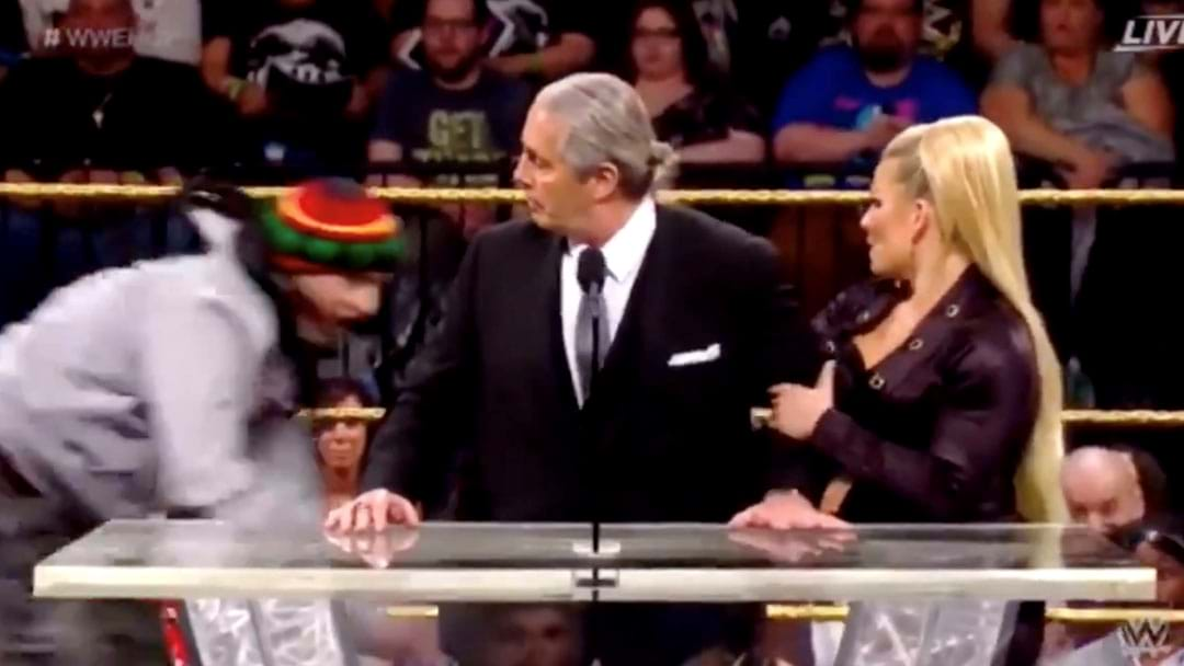 A Fan Attacked Bret Hart During His WWE Hall Of Fame Induction Speech