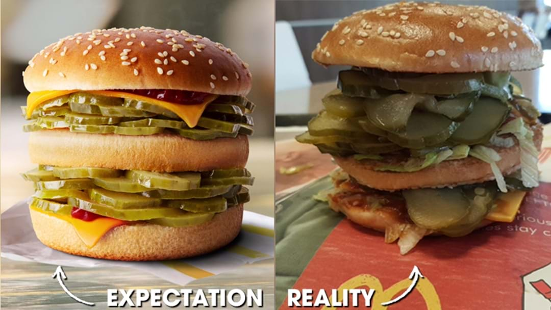 """An Aussie Bloke's Figured Out How To Actually Order McDonald's Gag """"McPickle"""" Burger"""