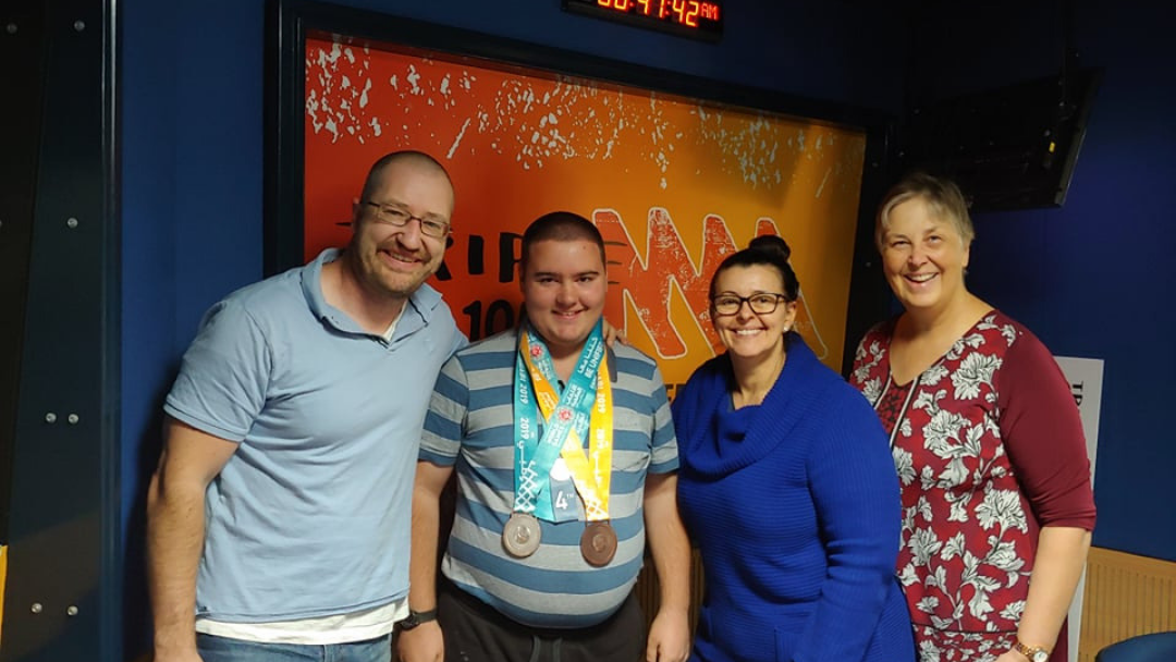The Border's Nathan Pearce Represented Australia At The Special Olympics In Abu Dhabi
