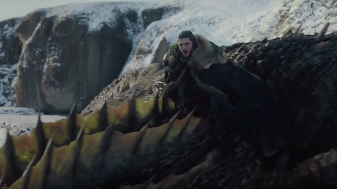 Jon Snow Got His Right Ball Trapped In A Dragon So Good Luck Taking Those Scenes Seriously Again