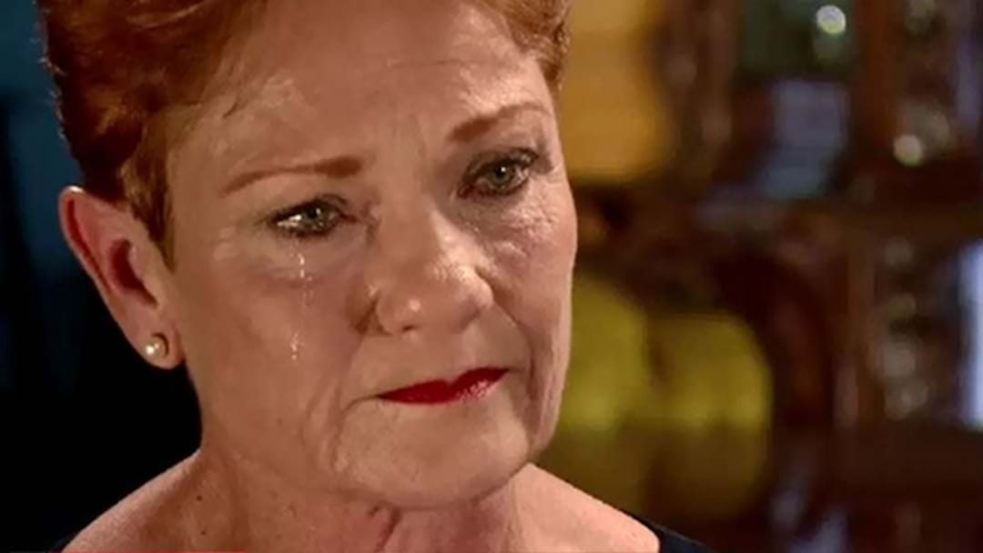 Pauline Hanson's Emotional Interview: Do You Feel Sorry For Her?