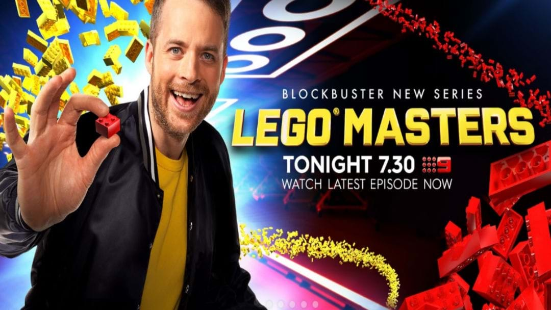 Hamish Blake Speaks To Mandy & Rob Palmer About LEGO Masters