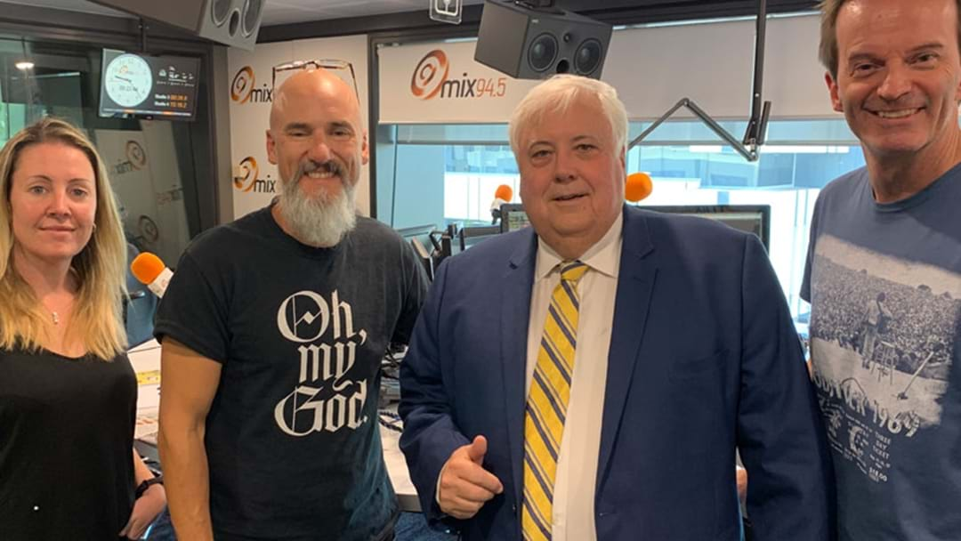 Kymba Asked Clive Palmer For His Mobile Number And Oh My, The Irony Was Palpable