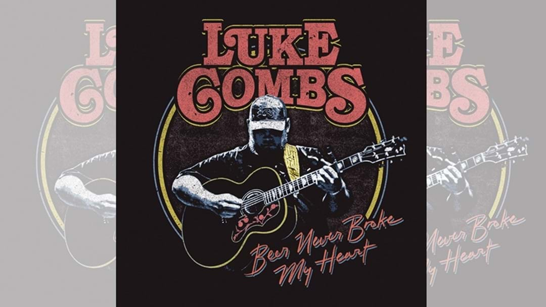 "Luke Combs ""Beer Never Broke My Heart"" is OUT NOW!"