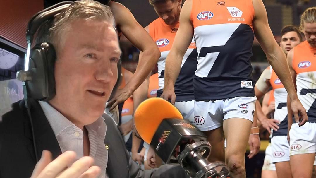 The Hot Breakfast Asks Melbourne's Neutral Footy Fans: 'Who Are They Supporting This Weekend - Collingwood or GWS'?