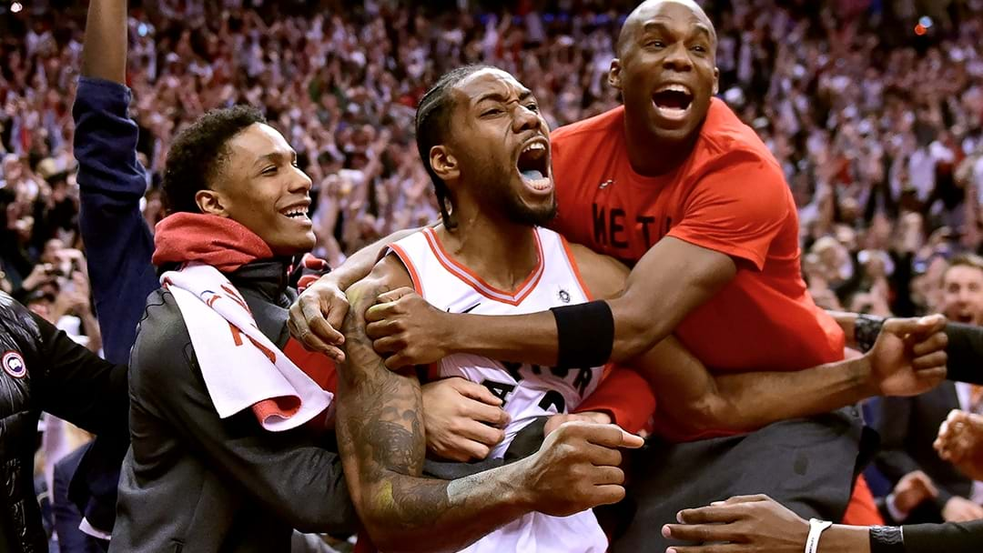 Kawhi Leonard Just Hit An Incredible Game 7 Buzzer Beater To Send The Raptors Into Eastern Conference Finals