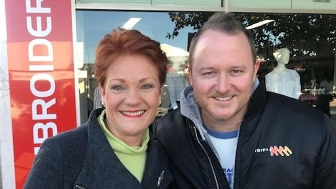 Pauline Hanson In Shepp? Must Be An Election!