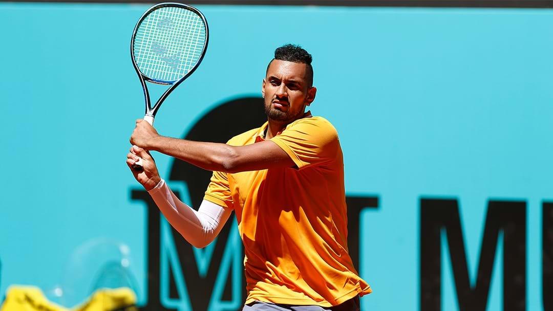 Nick Kyrgios Takes Aim At Rafael Nadal & Novak Djokovic