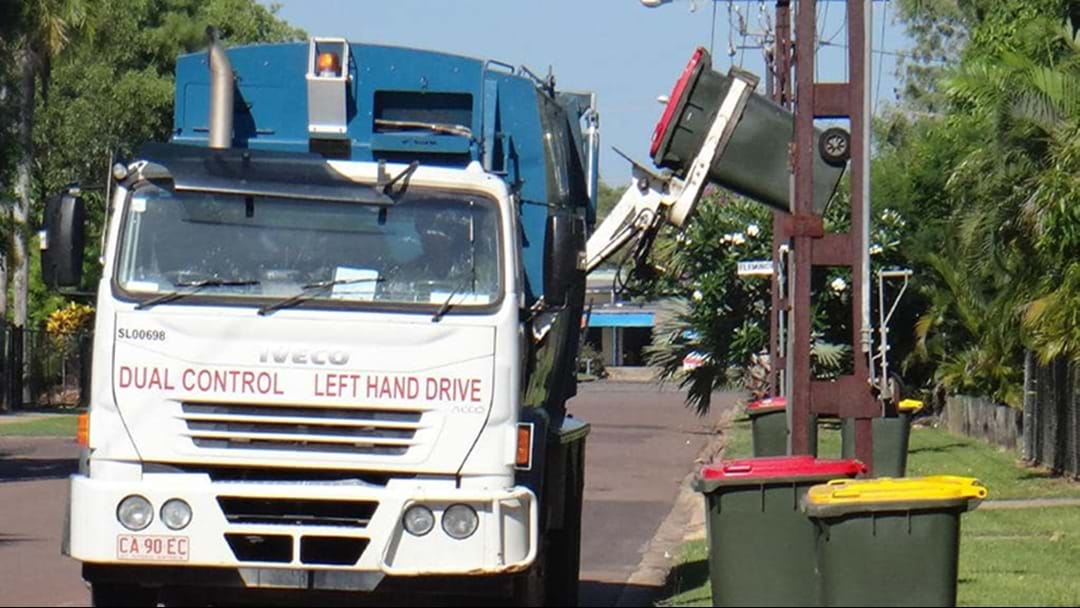 Vic Man Tipped From Charity Bin Into Rubbish Truck