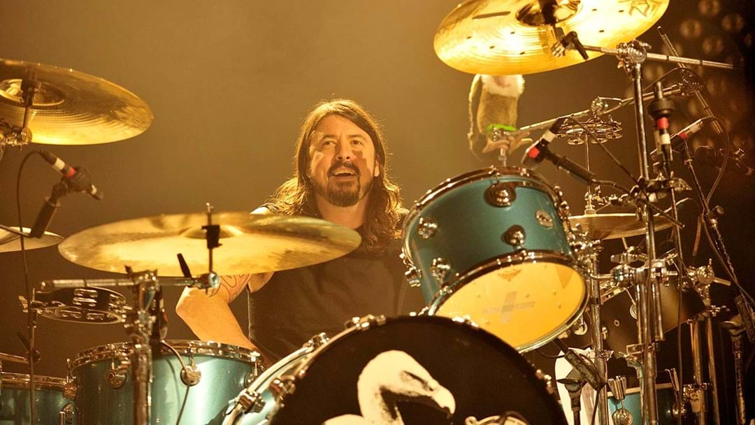 Dave Grohl's Drumming In A New Band