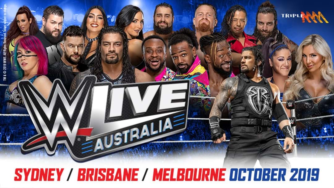 WWE Live Returns To Aus This October!