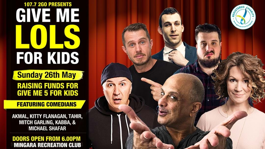 2GO's Give Me LOLs For Kids Comedy Night!