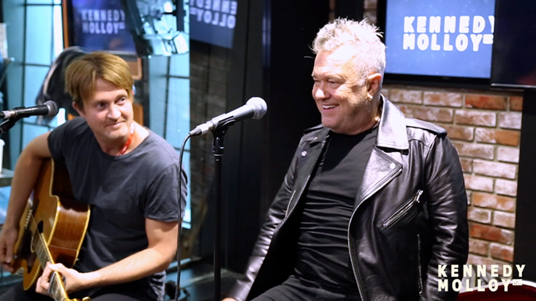 Jimmy Barnes Performs Shutting Down Our Town Live