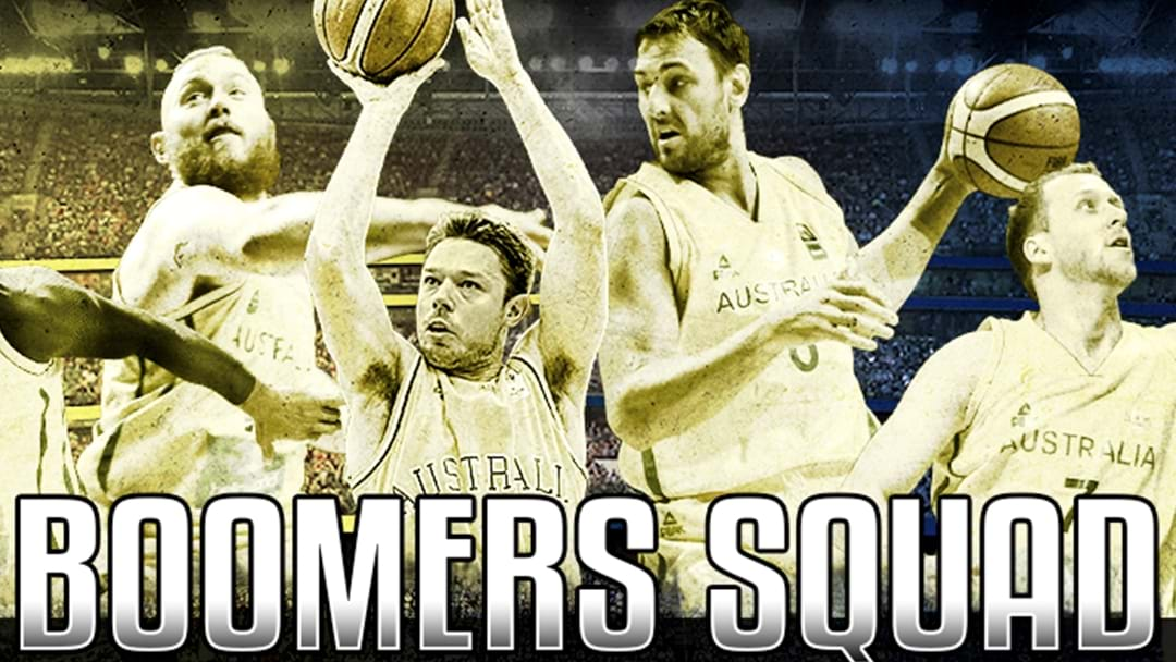 Boomers Reveal Huge 17-Man Squad For USA Games And FIBA World Cup