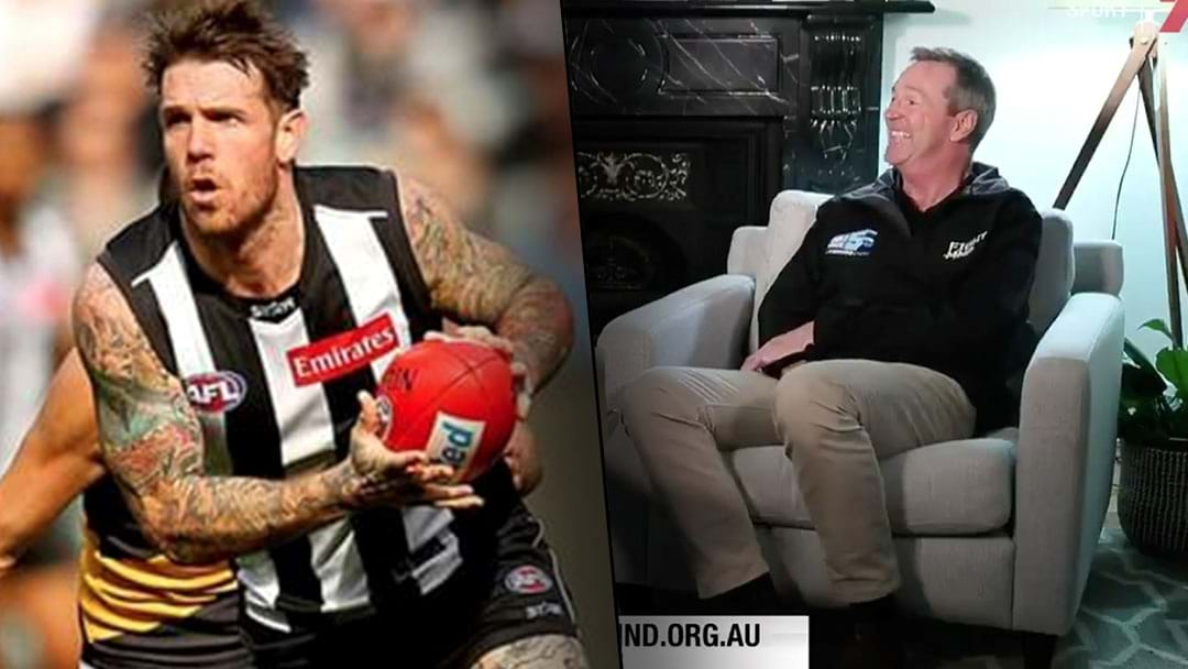 Neale Daniher Nominates Dane Swan And Lauren Jackson To Go Down The Slide On Queens Birthday
