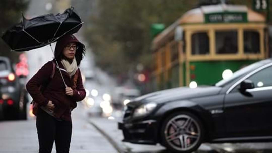 Hail, Gusty Winds To Hit Melbourne