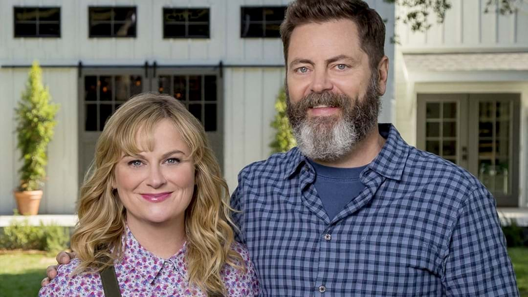 LISTEN | Nick Offerman Tells Kennedy Molloy His Brilliant Story About How He Met Amy Poehler