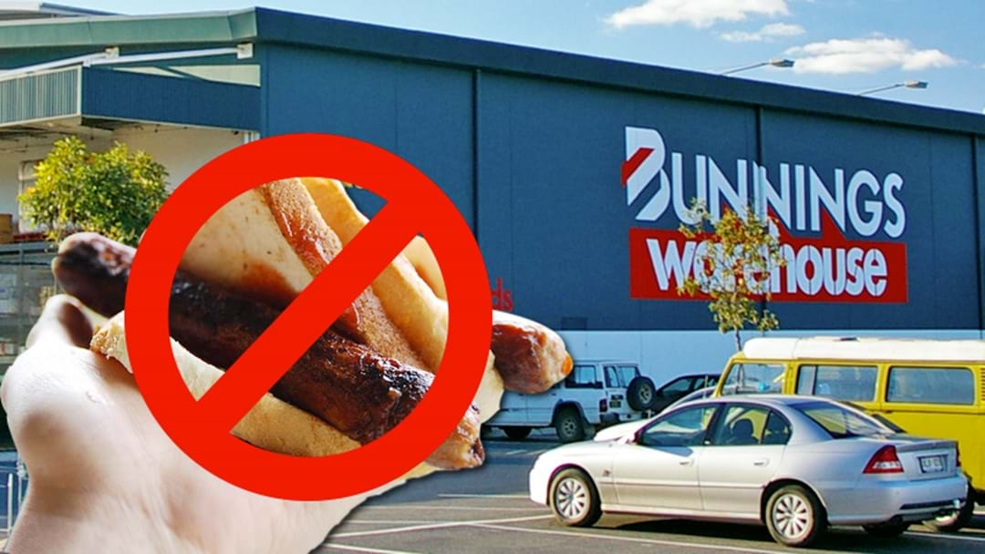 CONFESSION: I Can't Bloody Stand Bunnings Sausage Sizzles