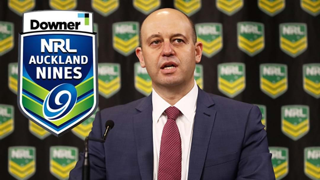 Greenberg Makes Big Announcement NRL Nines future