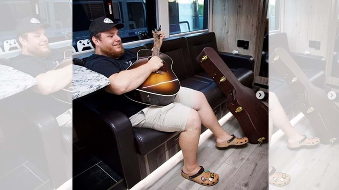 Luke Combs Teams Up with Crocs for Signature Shoe