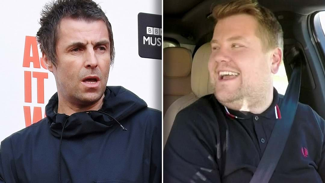 """""""James Corden Is A Knobhead"""" Liam Gallagher Explains Why He Will Never Do 'Carpool Karoake'"""