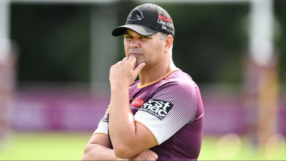 """It's A Clear, Clear Decision By Anthony Seibold"" 