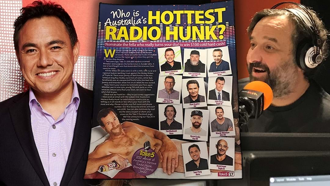 Mick Molloy ROASTS Everyone Else Competing For Australia's Hottest Radio Hunk!
