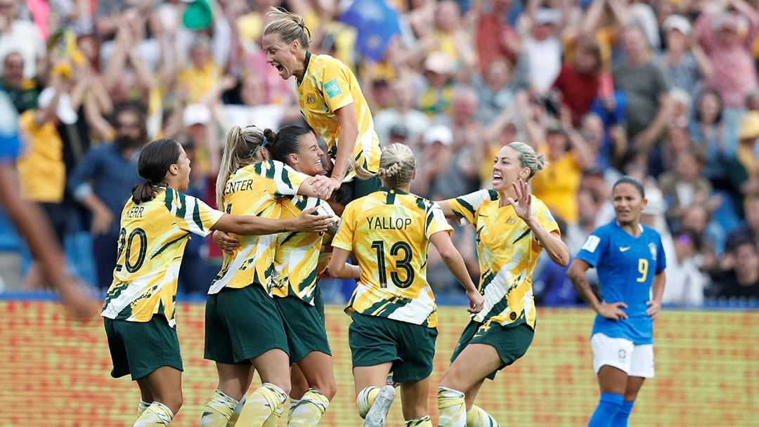 The Matildas Have Only Gone And Beaten Bloody Brazil At The World Cup