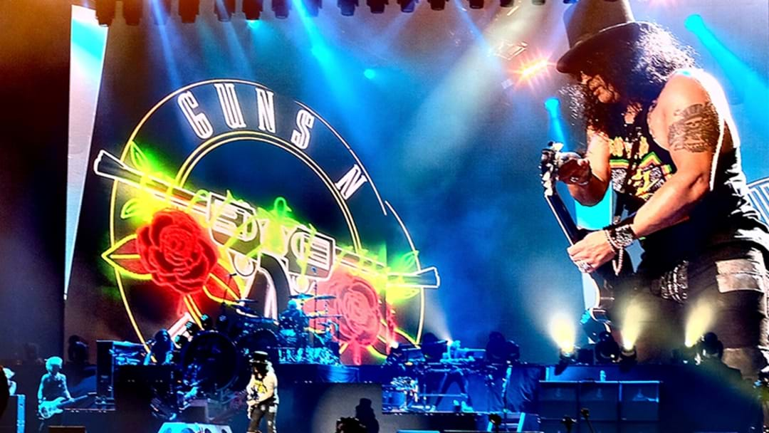 Guns N' Roses Recording And Assembling New Album