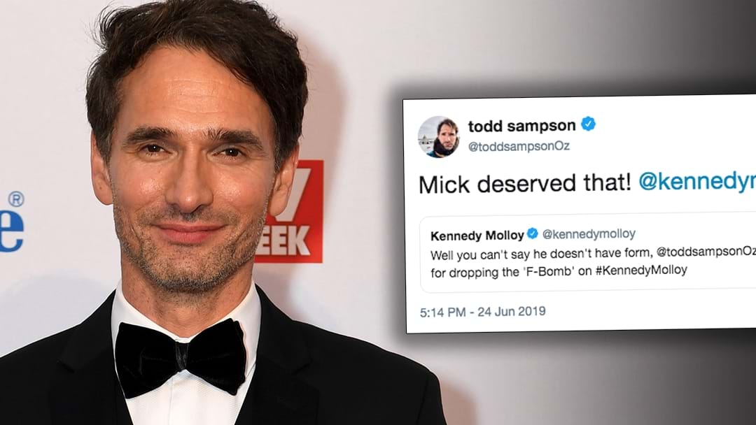 Todd Sampson Dropped ANOTHER F-Bomb On Kennedy Molloy!