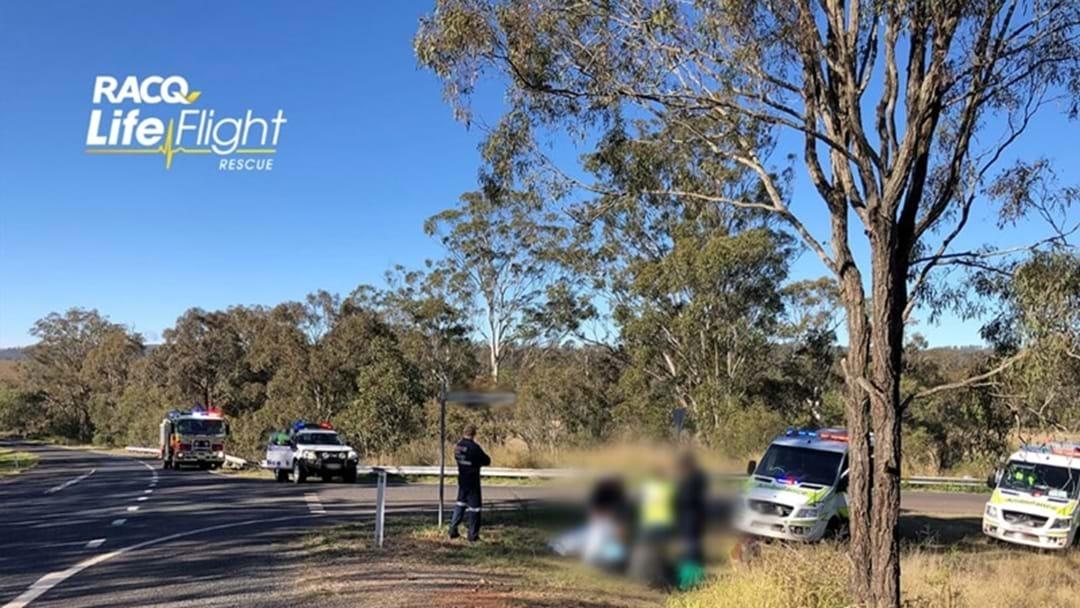 Teenager Injured In Two Vehicle Crash