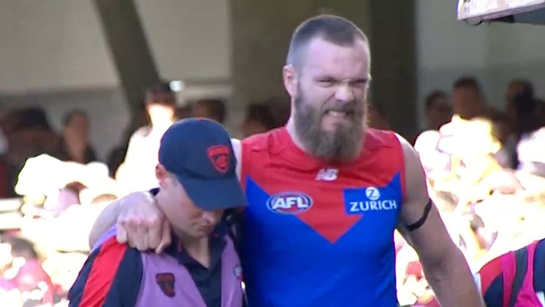 Max Gawn Has Been Withdrawn From This Afternoon's Game