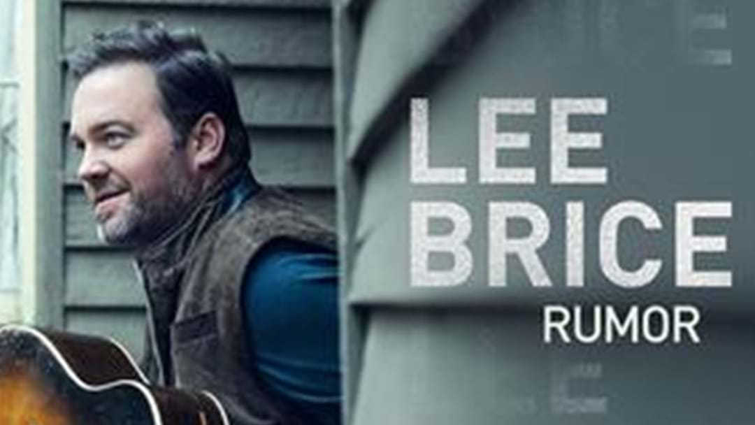 "Lee Brice Reaches #1 With ""Rumor"""