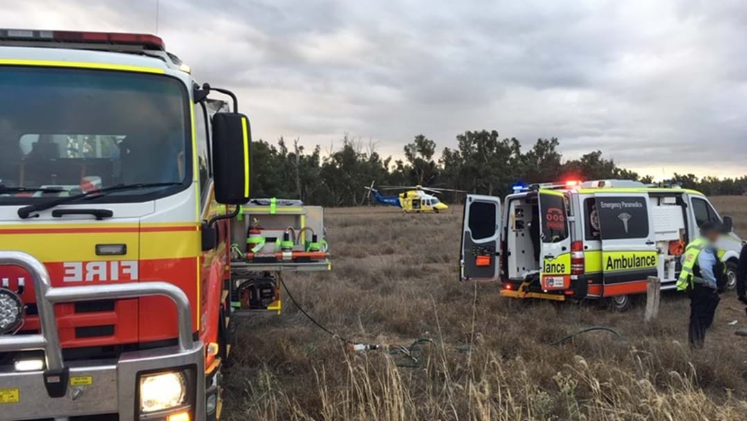 Woman In Critical Condition After Car Crash Goondiwindi