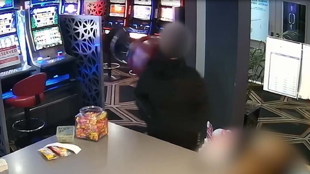 WATCH: Armed Robber Smashed With Bar Stool And Pot Plant At Mermaid Beach Tavern