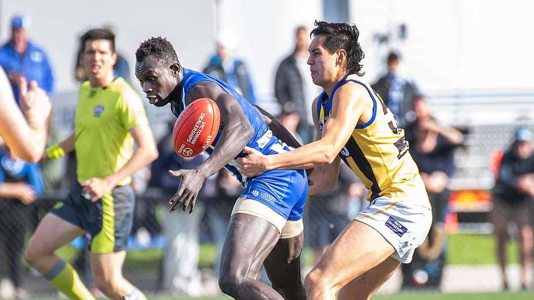 LISTEN | North Melbourne VFL Coach Talks About Majak Daw's Return Game