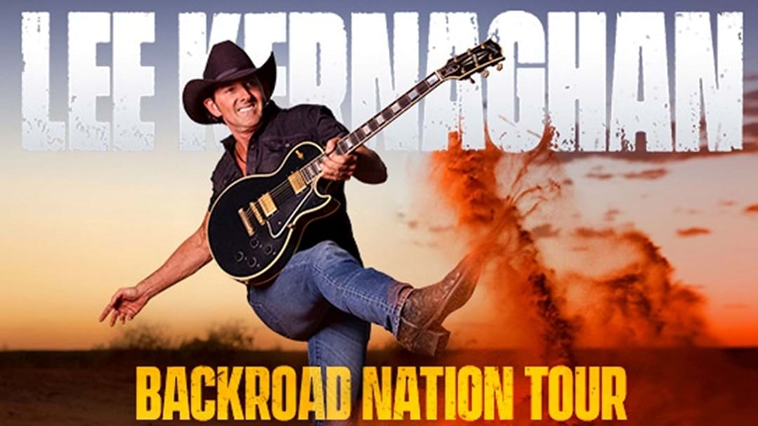 Lee Kernaghan is Rollin' His Tour Through This Backroad Nation
