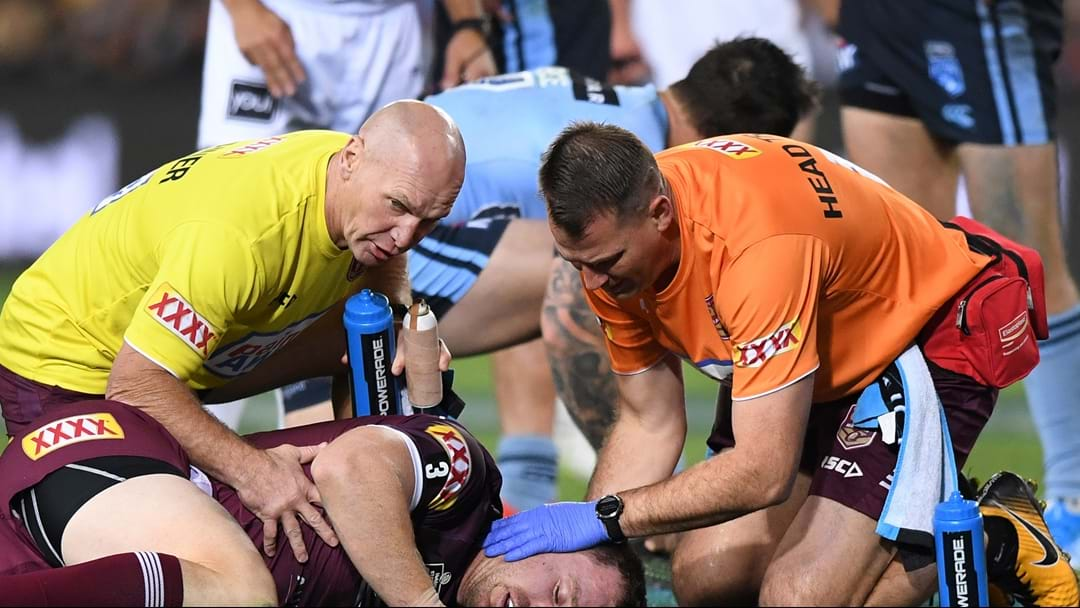 Kevvie Walters Gives An Update On Michael Morgan After Concussion