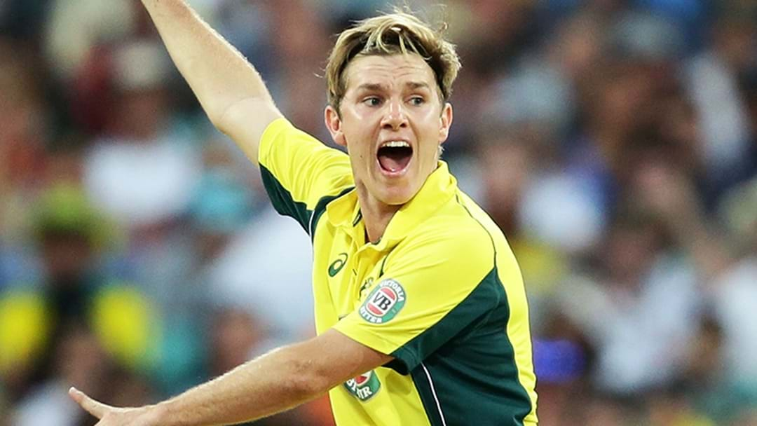 Adam Zampa Is Rocking An Absolute Stinker Of A New Hairdo