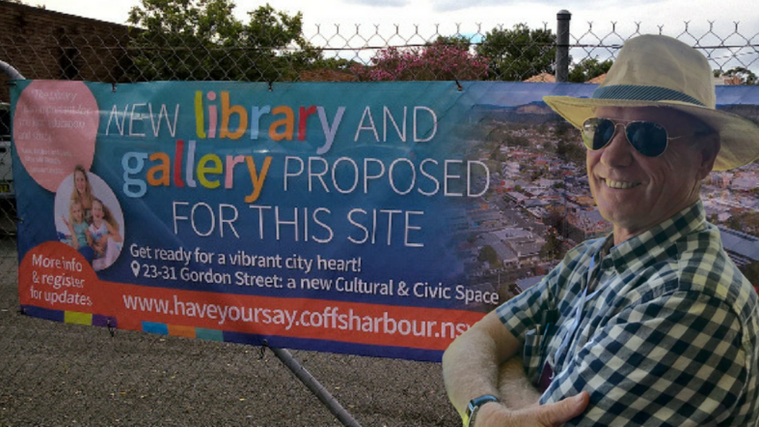 COFFS HARBOUR: Andrew Fraser Calls Public Meeting About Cultural & Civic Space