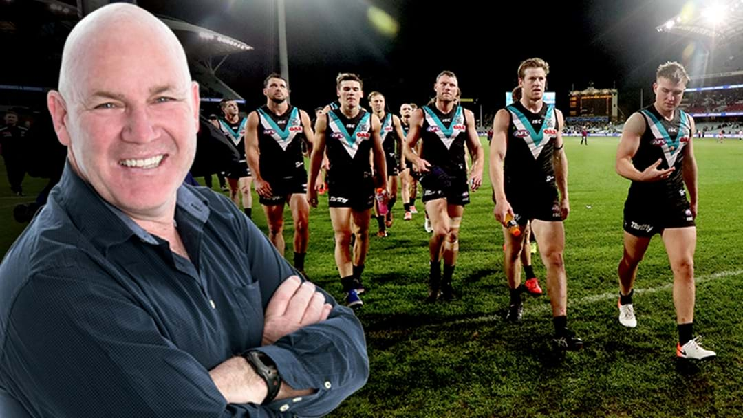 LISTEN | Jars Bakes Port Adelaide For Their Loss To Brisbane