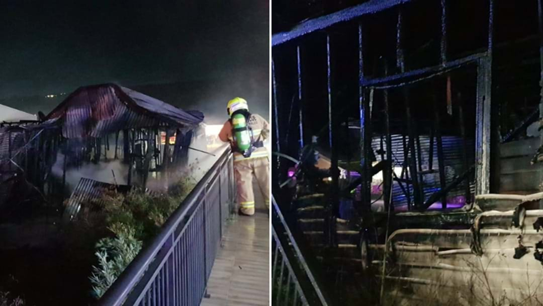 Gosford House Totally Destroyed In Suspicious Inferno Overnight