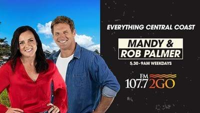Breakfast With Mandy & Rob Palmer!